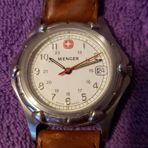 Wenger Swiss Made the Genuine Mens Watch Date